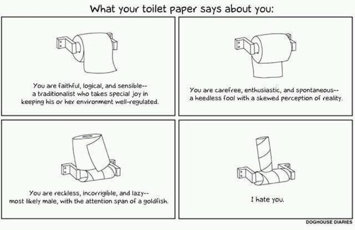 Funny Toilet Paper Image